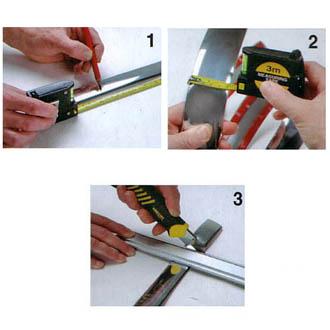 Bande d corative chrom e avec adh sif 3m largeur 2 cm for Bande adhesive decorative