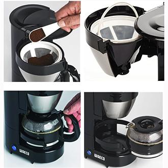 perfectcoffee cafeti re lectrique mc054 pour 5 tasses par waeco. Black Bedroom Furniture Sets. Home Design Ideas