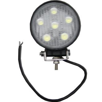 lampe auxiliaire de travail leds ronde ou carr e 12 24 v. Black Bedroom Furniture Sets. Home Design Ideas