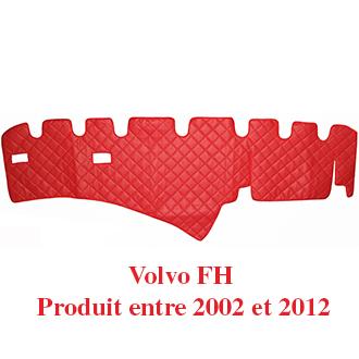 Tapis Pour Tableau De Bord En Similicuir Couleur Rouge