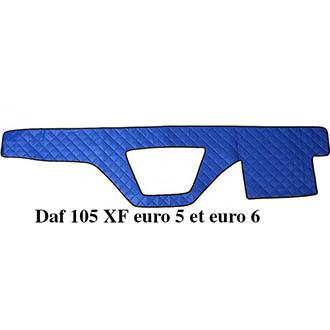 Tapis Pour Tableau De Bord En Similicuir Couleur Bleu